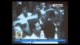 HOMENAJE A RODOLFO ORTEGA PEÑA ARCHIVO DE LA MEMORIA, 2012