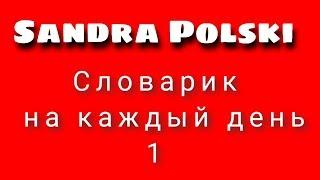Польский. Тема: ПОЛЬСКО - РУССКИЙ СЛОВАРИК!