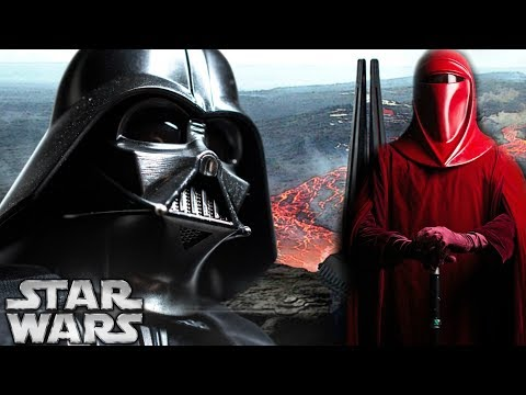 Why The Royal Red Guards Spied On Darth Vader - Star Wars Explained