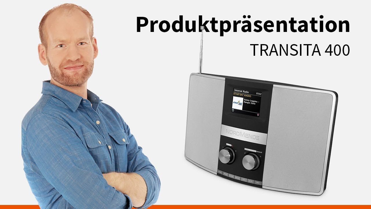 Video: Transita 400 | Multiroom-fähiges Hybrid-Designradio. | Nordmende