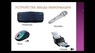 Информатика 7 класс. Создание презентации в PowerPoint на тему Устройства компьютера.