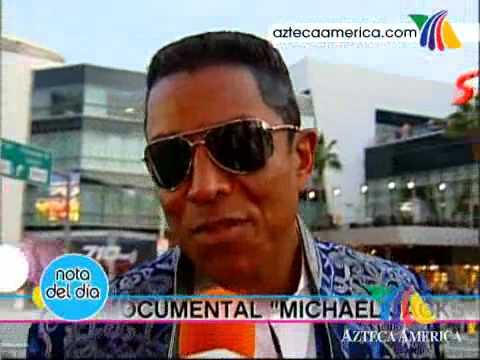 Premiere de la película de Michael Jackson