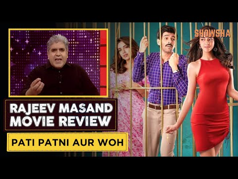 Pati Patni Aur Woh Movie Review by Rajeev Masand (हिंदी)  | Kartik Aaryan | Ananya Panday | SHOWSHA