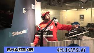 Pt.1 Cast members from the hit TV Show power Interview with Dj Kayslay at Shade 45