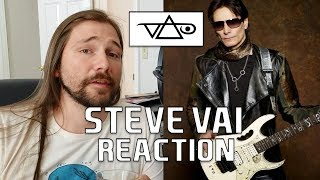 Steve Vai and Songwriting | Mike The Music Snob Reacts