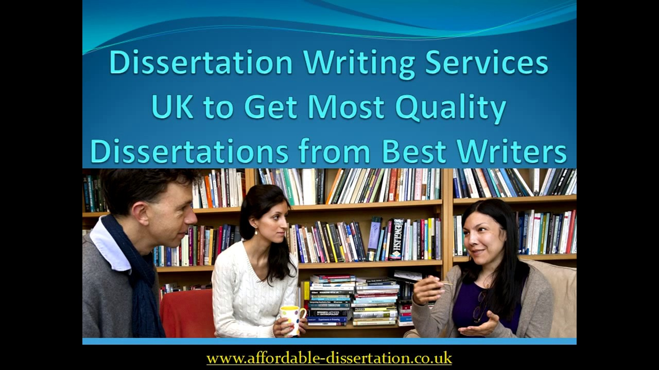Professional Online Dissertation Help & Writing Services UK