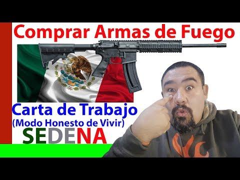 🔫😆🙊😎 Comprar Armas en México - Carta de Trabajo - SEDENA MX 🔫😆🙊😎