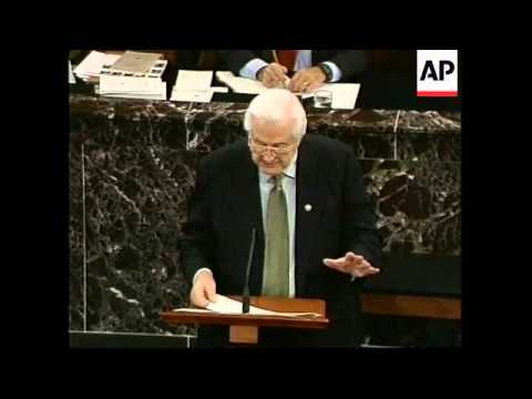 USA: PRESIDENT CLINTON IMPEACHMENT TRIAL: UNDERWAY (2)