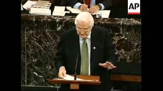 USA: PRESIDENT CLINTON IMPEACHMENT TRIAL: UNDERWAY (2)