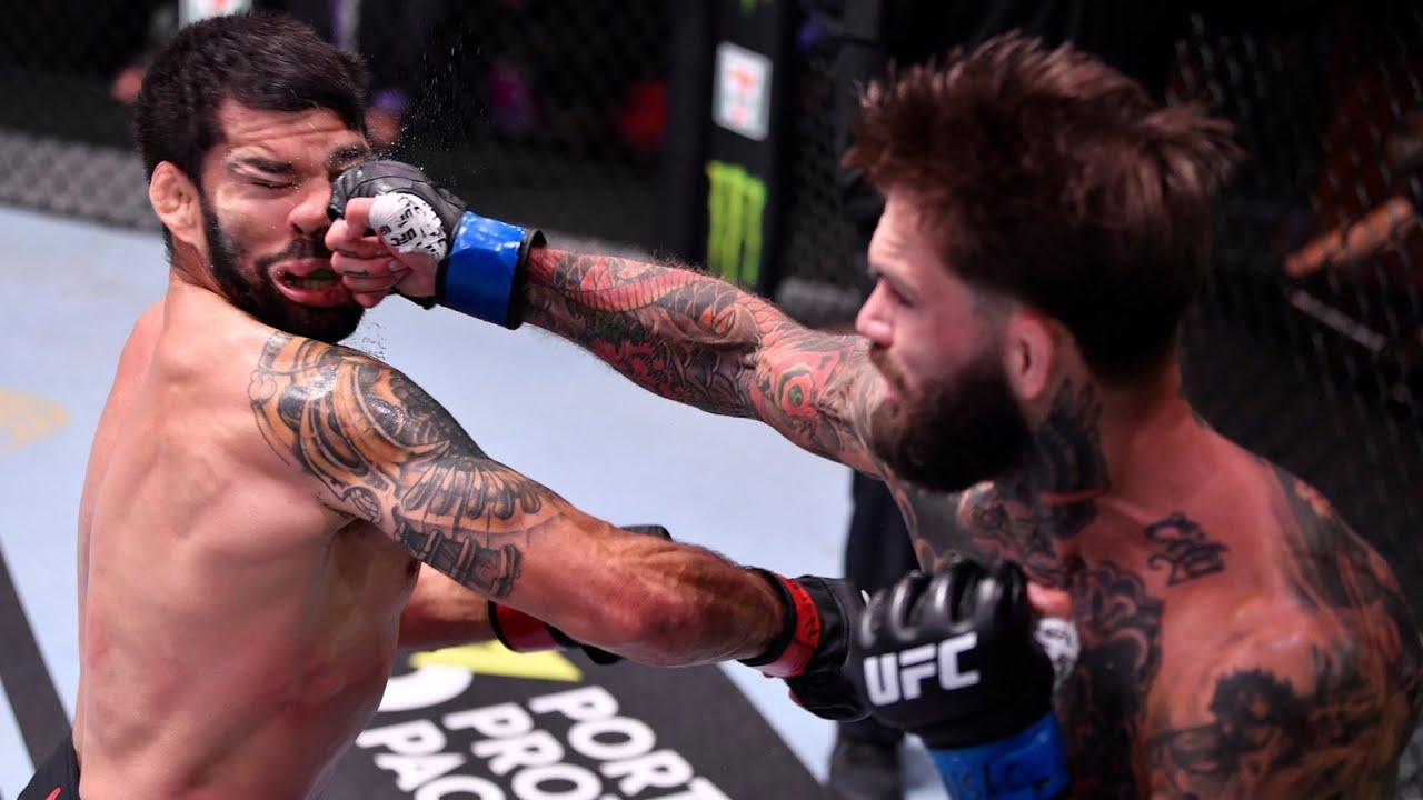The HUGE Mistake Cody Garbrandt Made Against Raphael Assuncao - YouTube