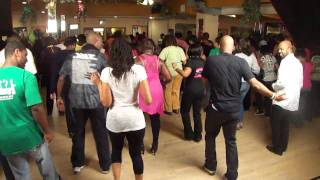 Lorenzo Evans Teaches Soul Food Line Dance