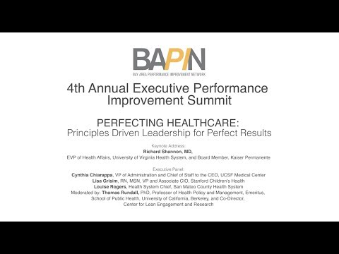 BAPIN 4th Annual Executive Performance Improvement Summit - Executive Panel Discussion