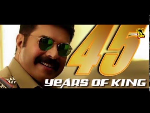 45 Years Of KING (Megastar Mammootty Completing 45 Years In Film Industry)