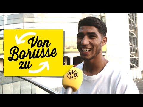 'The best haircut? Axel Witsel!' | Your 09 Questions for Achraf Hakimi | 'From Borusse to Borusse'