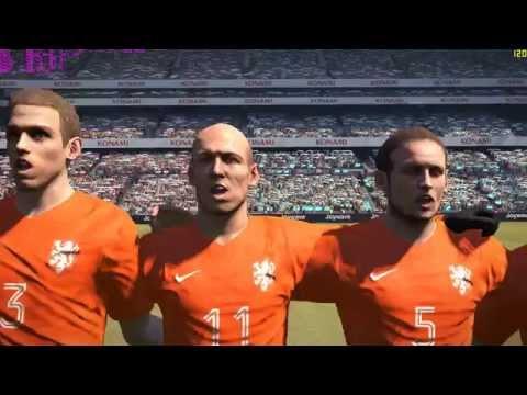 Pes 2016 PC gameplay || Netherlands vs Argentina