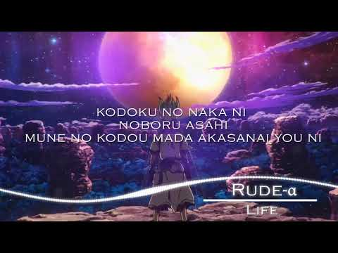 ( Lyrics/Romaji )Dr. STONE - Ending Full『LIFE』by Rude-α