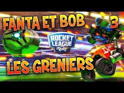 MATCH TOTAL FACE AUX GRENIERS !!! - DUEL sur Rocket League (3/3)