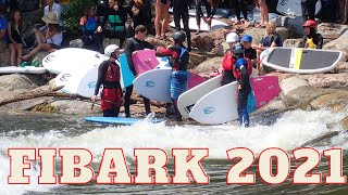 FiBArk 2021 river surf style competition