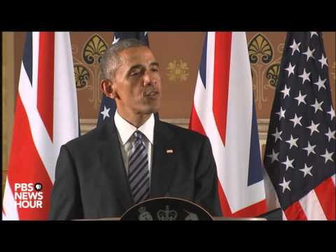 President Obama, Prime Minister Cameron hold joint news conference