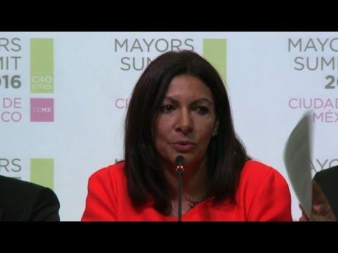 World mayors gather to plot climate plan