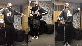 Snoop Dogg Crip Walks Better Than Blueface & OT Genasis Combined