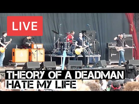 Theory of a Deadman  Hate My Life  in HD @ Download Festival 2012