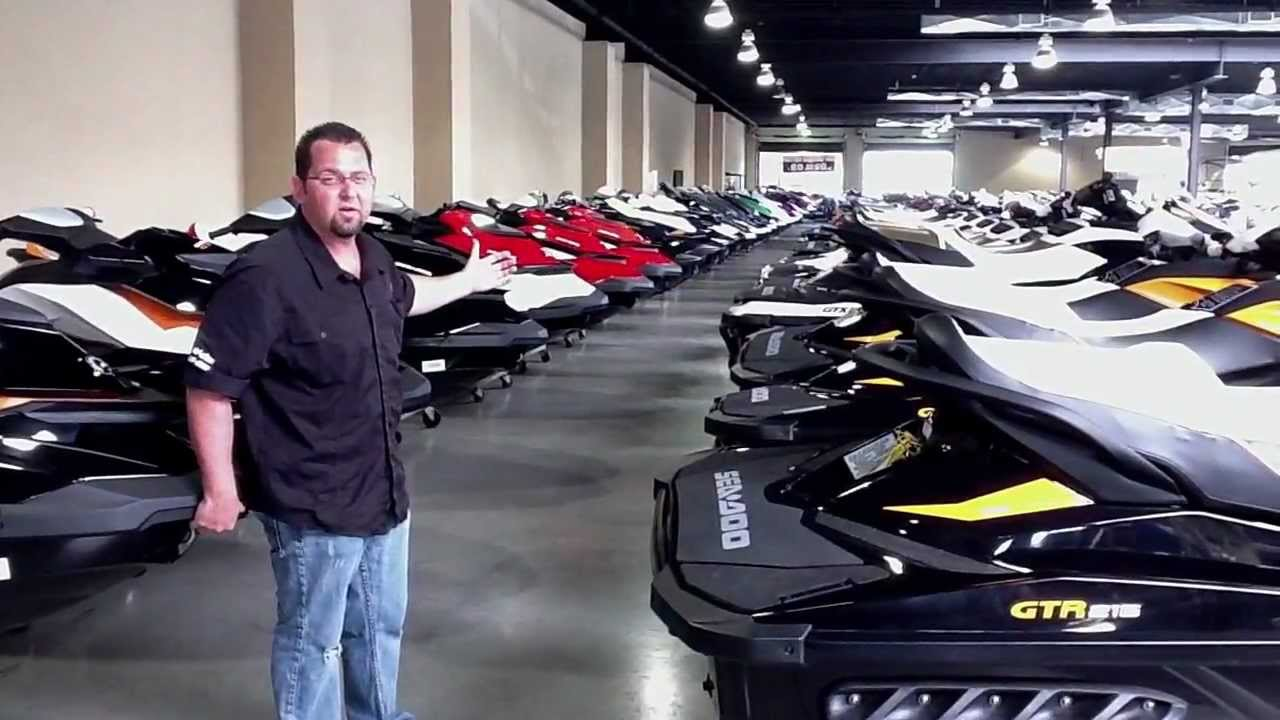 Importing And Exporting Used Jet Skis | Bert's Mega Mall