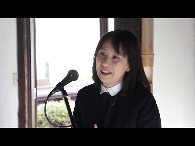 廣川裕美子[今日の反核反戦展2018:リレートーク]