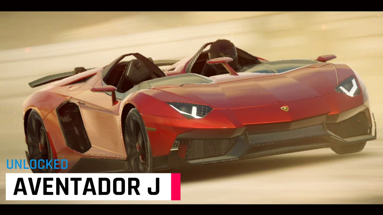 Unlock The Lamborghini Aventador J Asphalt 9 Legends Youtube