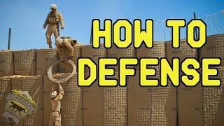 How To Defense | Attack and Defend Game at Wildlands Airsoft Park (OTs-03 SVU)