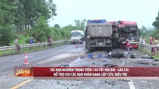 Tin Thời Sự Hôm nay (11h30 - 08/9/2017): Tai nạn nghiêm trọng trên cao tốc Nội Bài - Lào Cai: