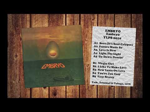Embryo - Embryo (1978) Vinyl FULL ALBUM