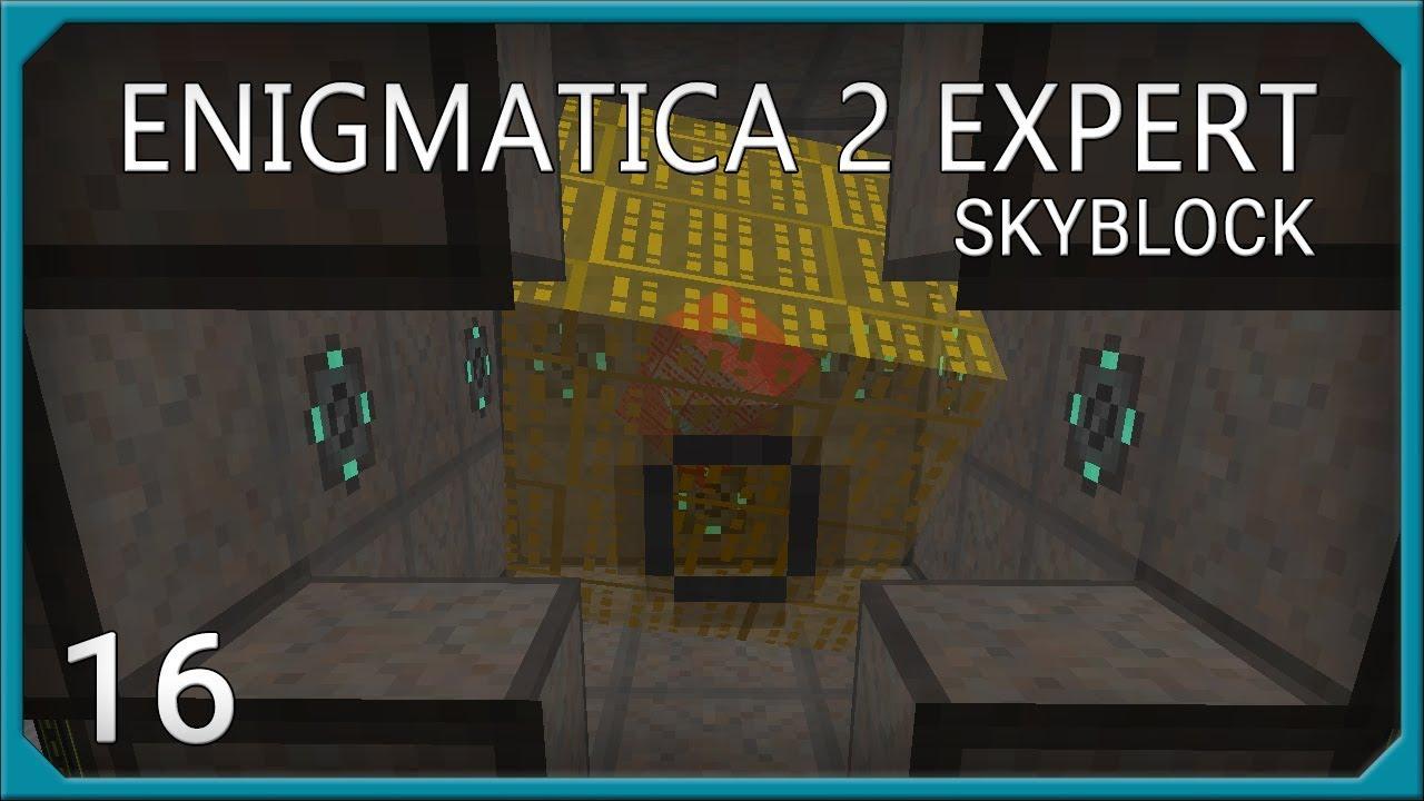 Enigmatica 2 Skyblock Expert EP16 Mekanism Reactor - POWER!