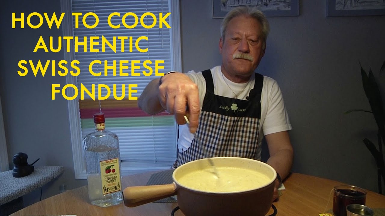 How to Make a Swiss Gruyere Cheese Fondue