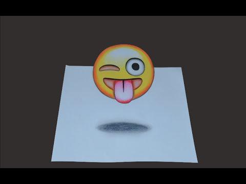 Como Desenhar Emoticons 3d Passo A Passo