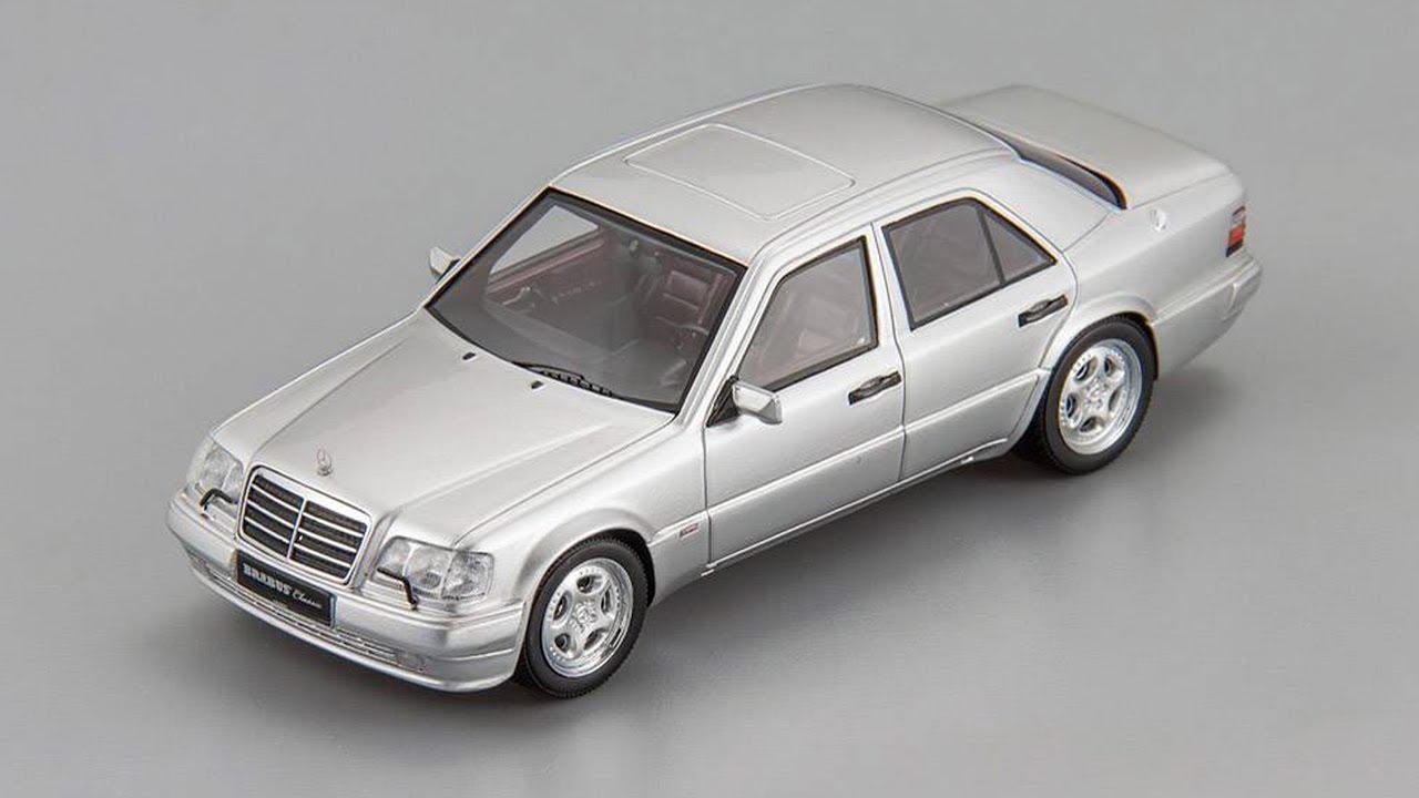 сборные масштабные модели автомобилей мерседес