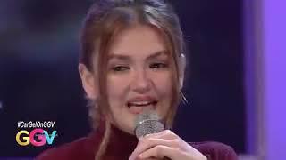 GGV Angelica naging emosyonal sa mensahe para kay Carlo