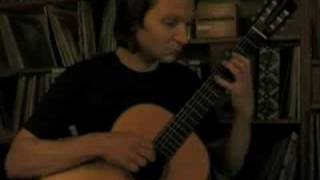 Johann Sebastian Bach: 4. Presto BWV 1001 Classical Guitar: Klaus Paul / 432 Hz