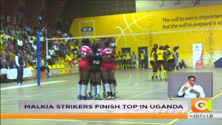 Malkia Strikers finish top in Uganda