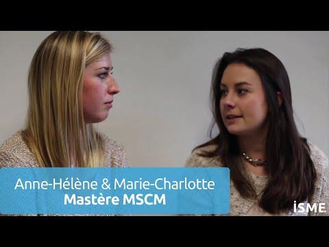 ISME - Anne-Hélène & Marie-Charlotte racontent leur parcours à l'ISME
