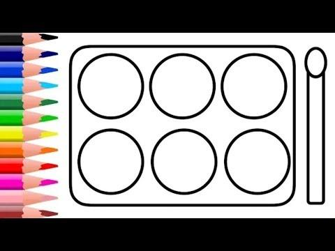 Desenhar E Colorir Kit De Maquiagem Drawing Youtube