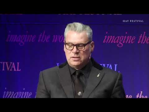 Stephen Fry and Mark Kermode at Hay Literary Festival  2017