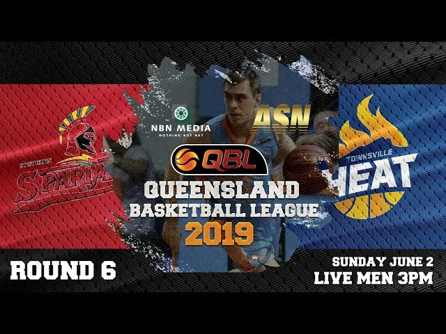 #QBL19 Round 6 - Spartans vs Heat (Men)