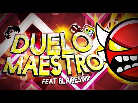 DUELO MAESTRO 100%!! (INSANE MULTIPLAYER DEMON) /w BLAIRESWIP | Geometry Dash