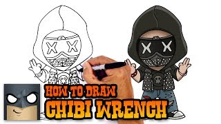 How to Draw Wrench | Watchdogs 2