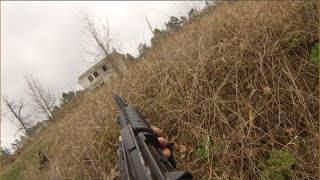 """Страйкбол: Сирия """"Бои в Алеппо"""" (GoPro Hero3, от первого лица)"""