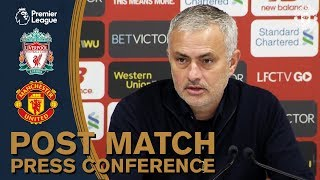 Post Match Press Conference | Liverpool 3-1 Manchester United | Premier League