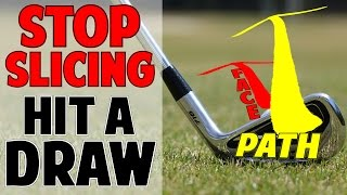 HOW TO STOP SLICING AND HIT A DRAW