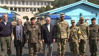 Tillerson in South Korea  US says military action against North Korea is an option