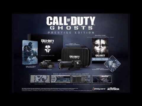 FREE Call Of Duty Ghosts Prestige Edition! Hardened Edition! 10 City Multiplayer World Tour!